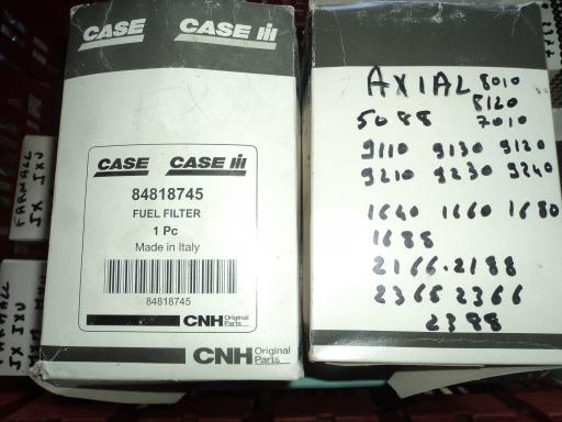2 filtres carburant CASE IH