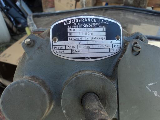 2 moteurs electrique 110 vt