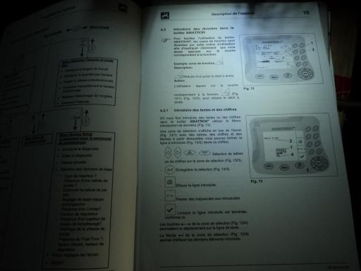 manuel reglage boitier AMAZONE AMATRON