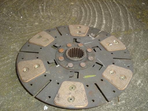 disque embrayage cerrametallique pour tracteur SAME DEUTZ