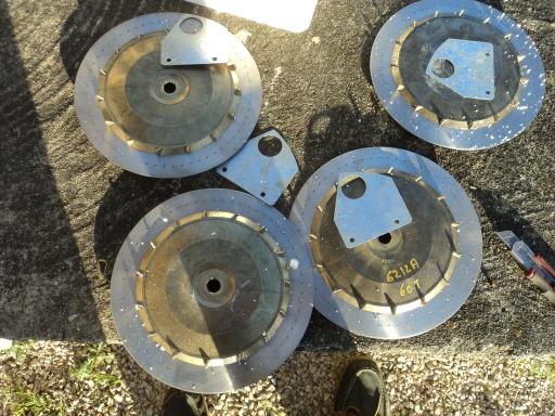 4 disques agitateur 60 trous MONOSEM