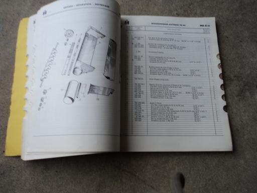 catalogue pieces moiss batt IH F8-44
