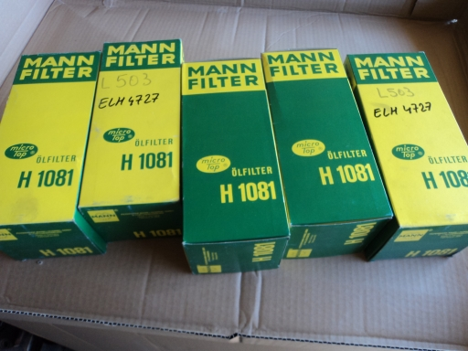 filtre huile MANN H1081