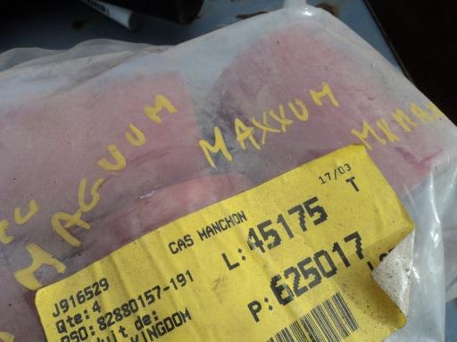 durite aspiration  turbo MAGGNUM / MX / AXIAL