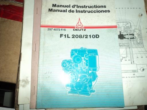 manuel entretien moteur DEUTZ F1L