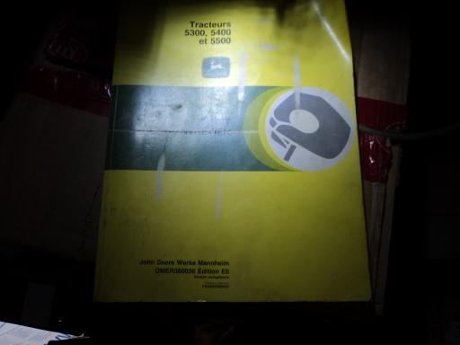 manuel entretien tracteur JOHN DEERE