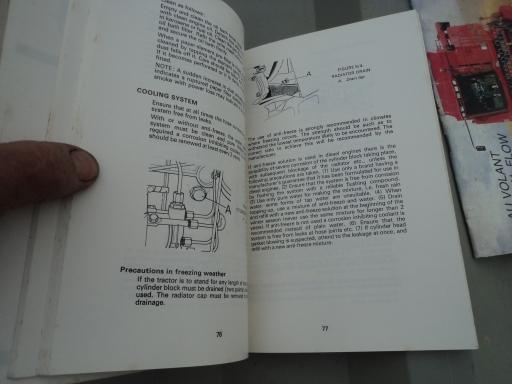 manuel anglais entretien CASE DB