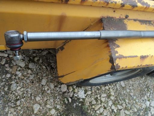 barre accouplement tracteur CASE IH