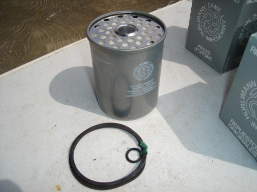 Pack de 4 filtres GAZ OIL pour tracteurs agricoles