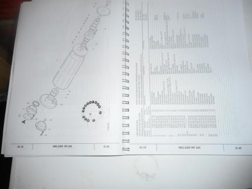 manuel pieces WELGER RP 245