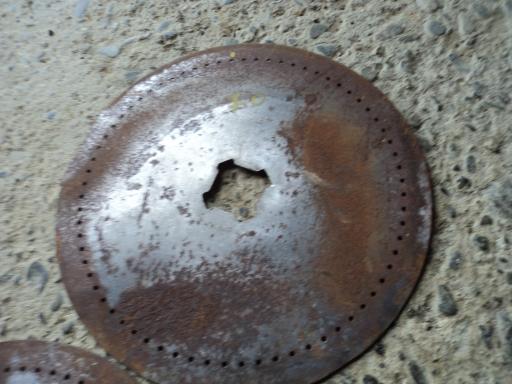 2 disques semoir nodet