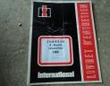 manuel entretien charrue IH 140