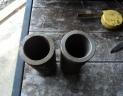 3 douilles coniques porte pointes pique balles