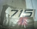 autocollant pour SOMECA 715