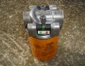 Tête de filtration retour hydraulique 25 microns
