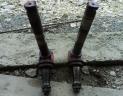 Fusées avant droite et gauche tracteur IH