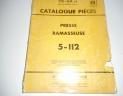 manuel pieces presse IH 5.112
