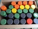 peinture agricole en bombe differents coloris