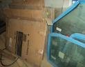 vitre avant droite sous pare brise cabine XL