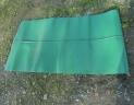tapis dechargement lateral vert PVC