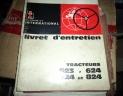 manuel entretien tracteur IH 523/624/724/824