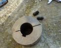 cone serrage poulie