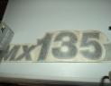 decalcomanie MX135
